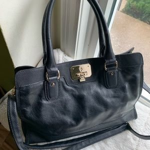 Cole Haan black crossbody bag/purse 14X10